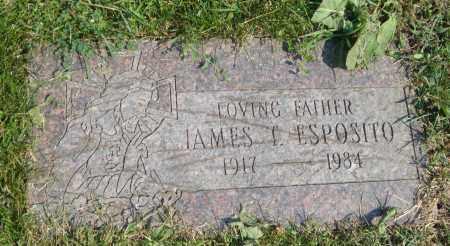 ESPOSITO, JAMES T. - Cook County, Illinois | JAMES T. ESPOSITO - Illinois Gravestone Photos