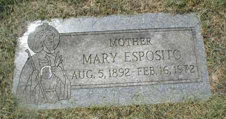 ESPOSITO, MARY - Cook County, Illinois | MARY ESPOSITO - Illinois Gravestone Photos
