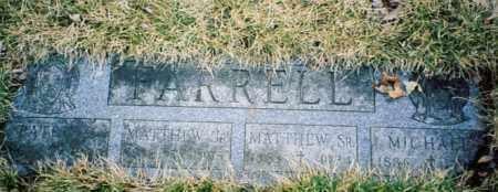 FARRELL, MATHEW - Cook County, Illinois | MATHEW FARRELL - Illinois Gravestone Photos