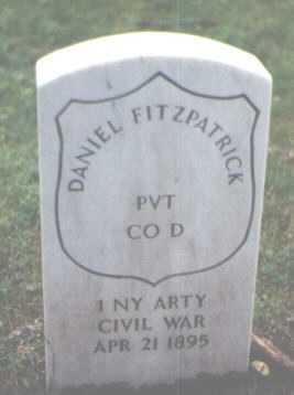 FITZPATRICK, DANIEL - Cook County, Illinois | DANIEL FITZPATRICK - Illinois Gravestone Photos