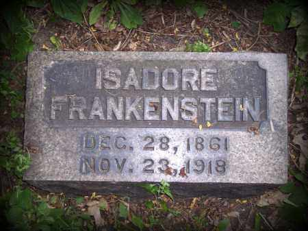 FRANKENSTEIN, ISADORE - Cook County, Illinois | ISADORE FRANKENSTEIN - Illinois Gravestone Photos
