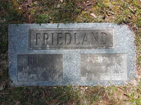 FRIEDLAND, JOHN C - Cook County, Illinois | JOHN C FRIEDLAND - Illinois Gravestone Photos