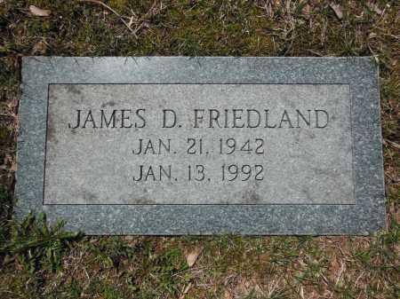 FRIEDLAND, JAMES D - Cook County, Illinois   JAMES D FRIEDLAND - Illinois Gravestone Photos