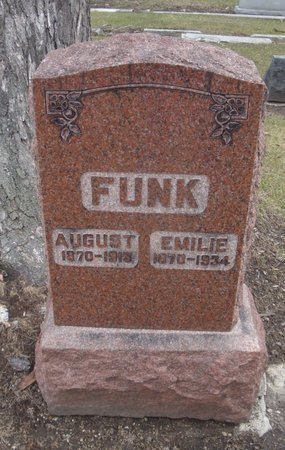 FUNK, EMILIE - Cook County, Illinois | EMILIE FUNK - Illinois Gravestone Photos