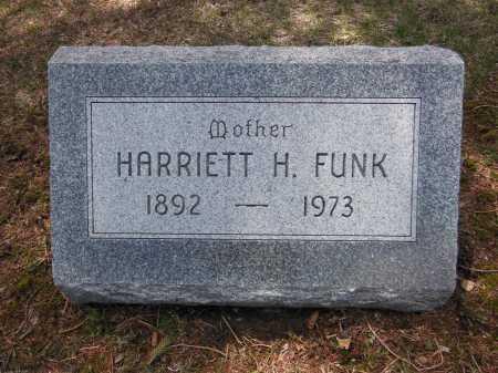 FRIEDLAND FUNK, HARRIETT H - Cook County, Illinois | HARRIETT H FRIEDLAND FUNK - Illinois Gravestone Photos
