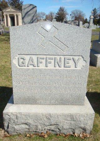 GAFFNEY, MICHAEL - Cook County, Illinois | MICHAEL GAFFNEY - Illinois Gravestone Photos