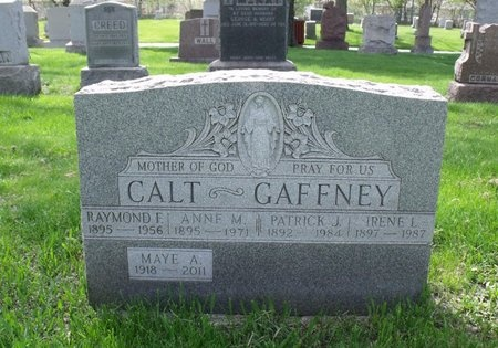 CALT GAFFNEY, IRENE - Cook County, Illinois | IRENE CALT GAFFNEY - Illinois Gravestone Photos