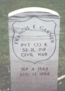 GARNER, FRANCIS E. - Cook County, Illinois | FRANCIS E. GARNER - Illinois Gravestone Photos