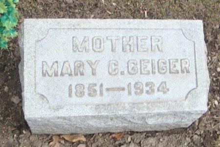 GEIGER, MARY C. - Cook County, Illinois   MARY C. GEIGER - Illinois Gravestone Photos
