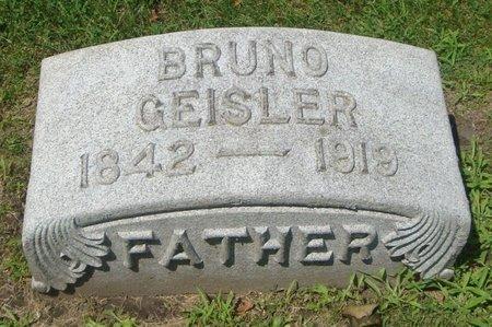 GEISLER, BRUNO - Cook County, Illinois | BRUNO GEISLER - Illinois Gravestone Photos