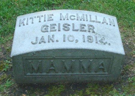 GEISLER, KITTIE - Cook County, Illinois   KITTIE GEISLER - Illinois Gravestone Photos