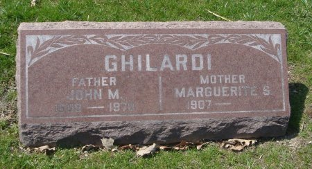 GHILARDI, JOHN M. - Cook County, Illinois   JOHN M. GHILARDI - Illinois Gravestone Photos