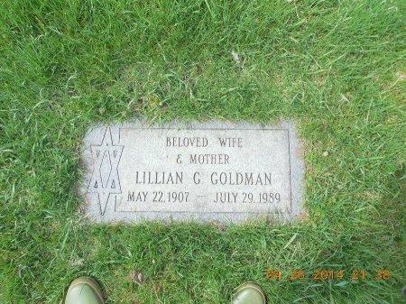 GOLDSTEIN GOLDMAN, LILLIAN - Cook County, Illinois | LILLIAN GOLDSTEIN GOLDMAN - Illinois Gravestone Photos
