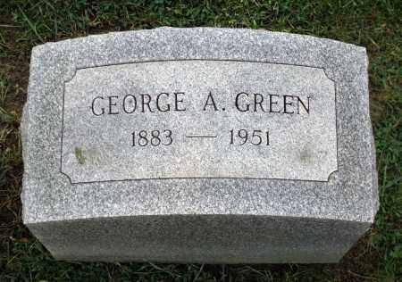 GREEN, GEORGE A. - Cook County, Illinois | GEORGE A. GREEN - Illinois Gravestone Photos