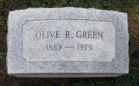 GREEN, OLIVE R. - Cook County, Illinois   OLIVE R. GREEN - Illinois Gravestone Photos