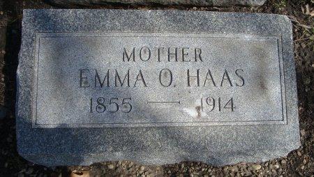 HAAS, EMMA O. - Cook County, Illinois   EMMA O. HAAS - Illinois Gravestone Photos