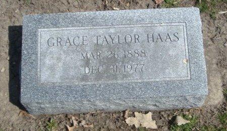 HAAS, GRACE TAYLOR - Cook County, Illinois | GRACE TAYLOR HAAS - Illinois Gravestone Photos
