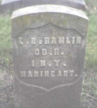 HAMLIN, L. B. - Cook County, Illinois   L. B. HAMLIN - Illinois Gravestone Photos