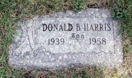 HARRIS, DONALD B. - Cook County, Illinois   DONALD B. HARRIS - Illinois Gravestone Photos