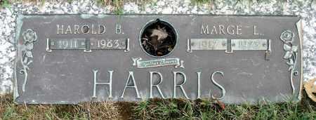 HARRIS, HAROLD B. - Cook County, Illinois | HAROLD B. HARRIS - Illinois Gravestone Photos