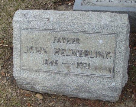 HELMERLING, JOHN - Cook County, Illinois   JOHN HELMERLING - Illinois Gravestone Photos