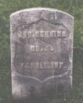 HENNING, JNO. - Cook County, Illinois | JNO. HENNING - Illinois Gravestone Photos