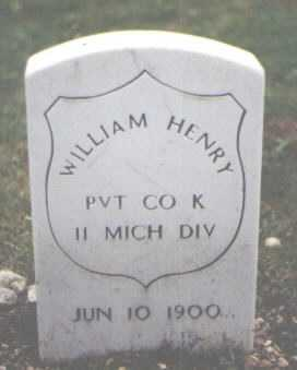 HENRY, WILLIAM - Cook County, Illinois | WILLIAM HENRY - Illinois Gravestone Photos