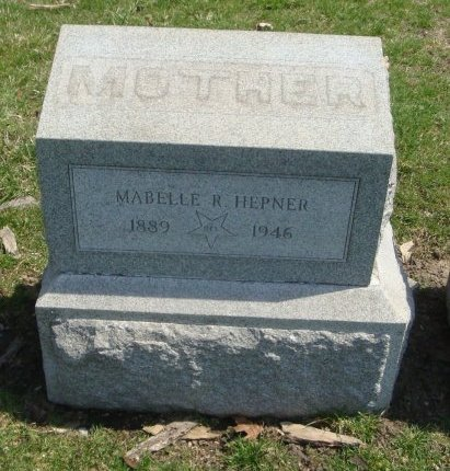 HEPNER, MAYBELLE R. - Cook County, Illinois | MAYBELLE R. HEPNER - Illinois Gravestone Photos
