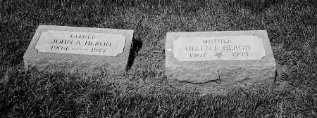 HERON, HELEN - Cook County, Illinois | HELEN HERON - Illinois Gravestone Photos