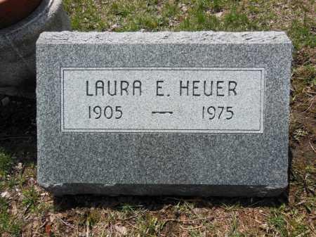 HEUER, LAURA E - Cook County, Illinois | LAURA E HEUER - Illinois Gravestone Photos