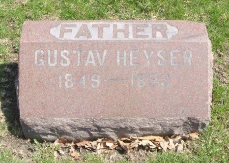 HEYSER, GUSTAV - Cook County, Illinois   GUSTAV HEYSER - Illinois Gravestone Photos