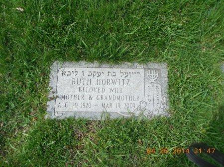 GOLDMAN HORWITZ, RUTH - Cook County, Illinois | RUTH GOLDMAN HORWITZ - Illinois Gravestone Photos