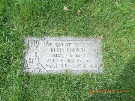 HORWITZ, RUBIN - Cook County, Illinois | RUBIN HORWITZ - Illinois Gravestone Photos