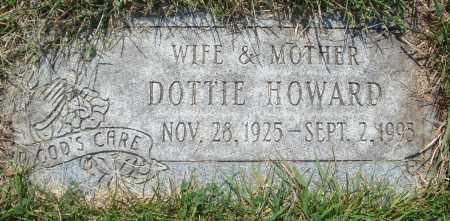 HOWARD, DOTTIE - Cook County, Illinois | DOTTIE HOWARD - Illinois Gravestone Photos