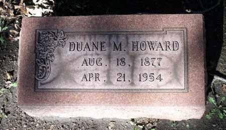 HOWARD, DUANE M. - Cook County, Illinois | DUANE M. HOWARD - Illinois Gravestone Photos