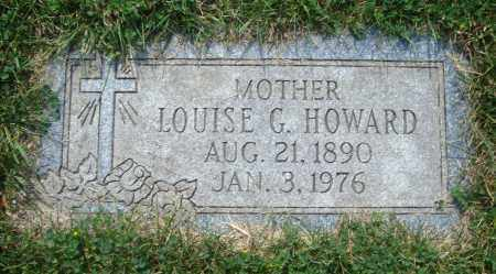 HOWARD, LOUISE G. - Cook County, Illinois | LOUISE G. HOWARD - Illinois Gravestone Photos