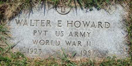 HOWARD, WALTER E. - Cook County, Illinois | WALTER E. HOWARD - Illinois Gravestone Photos