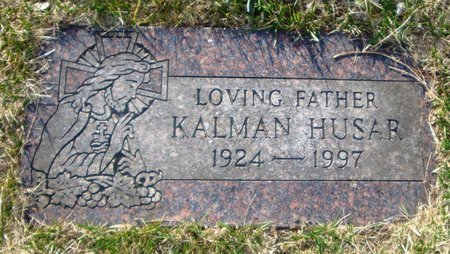 HUSAR, KALMAN - Cook County, Illinois | KALMAN HUSAR - Illinois Gravestone Photos