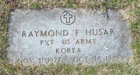 HUSAR, RAYMOND F. - Cook County, Illinois   RAYMOND F. HUSAR - Illinois Gravestone Photos