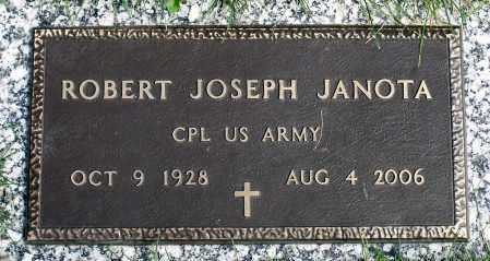JANOTA, ROBERT JOSEPH - Cook County, Illinois   ROBERT JOSEPH JANOTA - Illinois Gravestone Photos