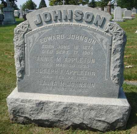 JOHNSON, EDWARD - Cook County, Illinois   EDWARD JOHNSON - Illinois Gravestone Photos