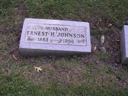 JOHNSON, ERNEST H. - Cook County, Illinois | ERNEST H. JOHNSON - Illinois Gravestone Photos