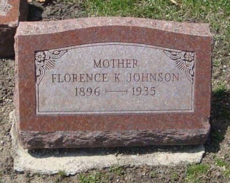 JOHNSON, FLORENCE K. - Cook County, Illinois | FLORENCE K. JOHNSON - Illinois Gravestone Photos