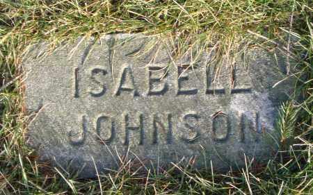 JOHNSON, ISABELL - Cook County, Illinois | ISABELL JOHNSON - Illinois Gravestone Photos