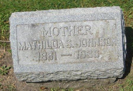 JOHNSON, MATHILDA S. - Cook County, Illinois | MATHILDA S. JOHNSON - Illinois Gravestone Photos
