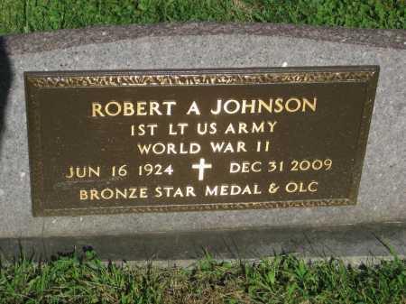 JOHNSON, ROBERT A - Cook County, Illinois   ROBERT A JOHNSON - Illinois Gravestone Photos