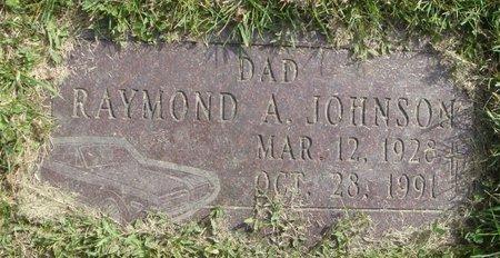 JOHNSON, RAYMOND A. - Cook County, Illinois | RAYMOND A. JOHNSON - Illinois Gravestone Photos