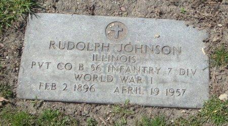 JOHNSON, RUDOLPH - Cook County, Illinois   RUDOLPH JOHNSON - Illinois Gravestone Photos