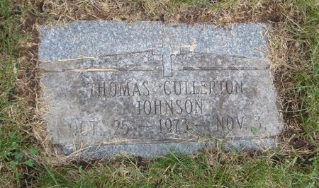 JOHNSON, THOMAS CULLERTON - Cook County, Illinois   THOMAS CULLERTON JOHNSON - Illinois Gravestone Photos