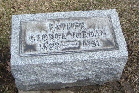 JORDAN, GEORGE - Cook County, Illinois   GEORGE JORDAN - Illinois Gravestone Photos